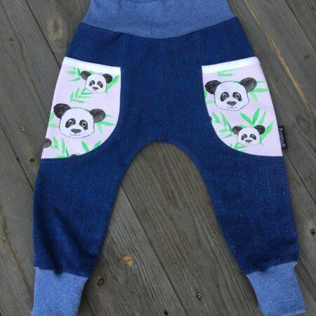 Tröja långärmad panda stl 110